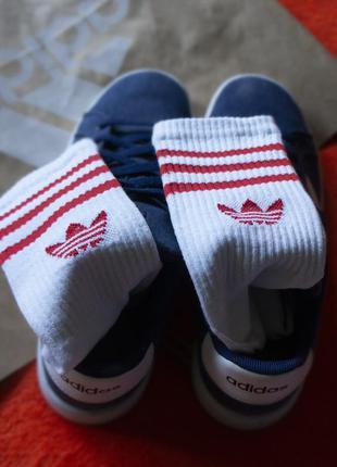 Мужские белые носки спортивные adidas