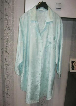 Домашнее платье пижама рубашка ночнушка для дома и релакса