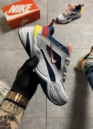 Nike m2k tekno white шикарные женские кроссовки найк текно белые