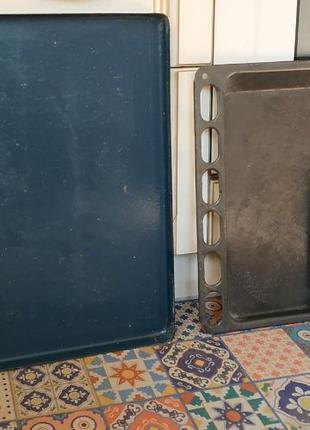 Решітки емальовані та кришка від духовки газової плити