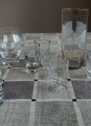Чарочки рюмочки стопочки келішки стакани різне за ваші гроші