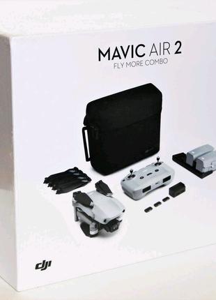 Квадрокоптер DJI Mavic Air 2 FCC Fly More Combo