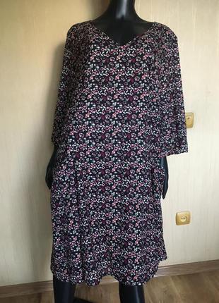 Платье в цветочный принт  bonprix