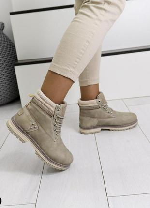 👟 ботинки женские эко кожа / наложенный платёж bs👟