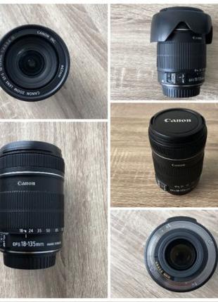 Объектив Canon EF-S 18-135mm f/3.5-5.6 IS в идеальном состоянии