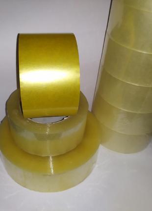 Скотч прозрачный 45мм*400м 60 мкм (6 шт)