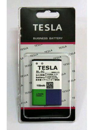 Усиленный Акб TESLA  Nokia BL-5C 1150Mah