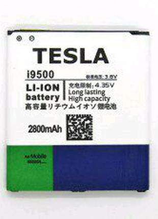 Усиленный Акб TESLA Samsung i9500 G7102   2800mah