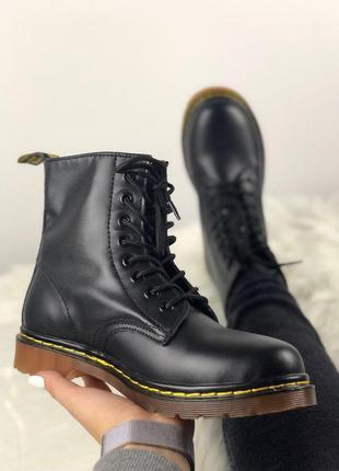 Мужские ботинки 🔺dr martens 1460 black🔺демисезон
