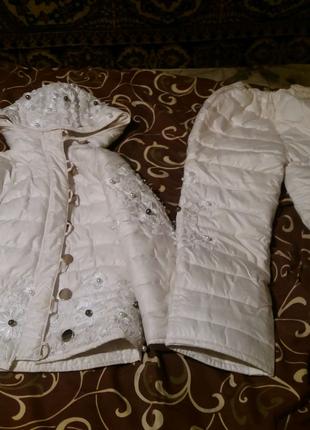 Зимний костюм теплий