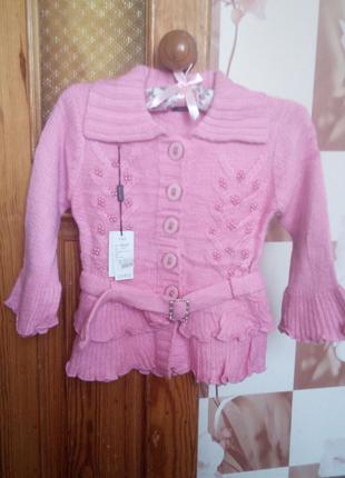 Детская нарядная кофта на девочку
