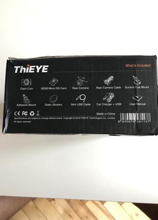 Автомобильный видеорегистратор ThiEYE Carbox 5R Dash Cam Real
