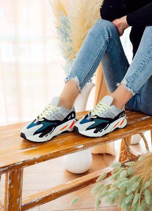 Кроссовки женские 💥 adidas yeezy boost 700 топ качество 💥 крос...