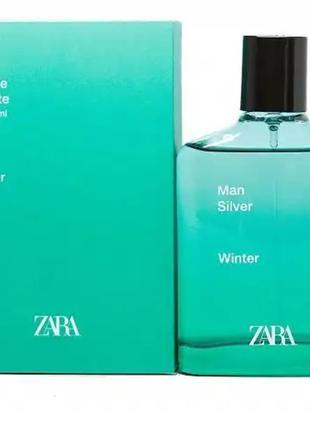 Zara man silver winter 100ml