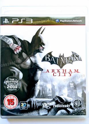 BATMAN Arkham City PS3 диск | РУС