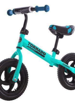 Детский беговел Велобег Велосипед без педалей Tornado
