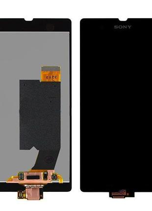 Дисплей Sony C6602 L36h Xperia Z/ C6603 L36i / C6606 L36a Черный
