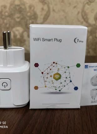 Умна Wi-Fi розетка Wi-fi smart plug 16A