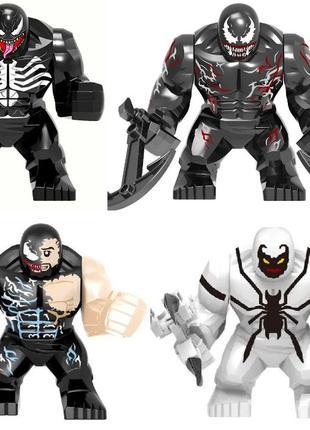 Лего фигурки Веном Lego Marvel Марвел супер-герои мстители venom