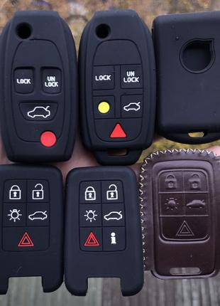 Чехол для ключа jeep Chrysler Dodge и Volvo S60/90,v40/60/90, ...