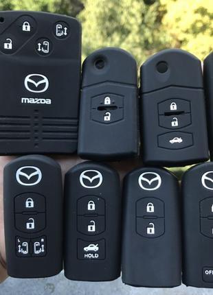 Чехол для ключа Mazda 2,3,5,6,8 MX5 CX5,9