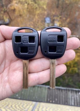 Корпус ключа Lexus SC GS LS GX470 RX350 ES300 RX300 RX400h на ...