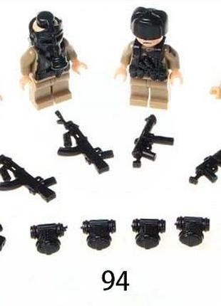 #94 Фигурки SWAT спецназ военные солдаты лего lego BrickArms