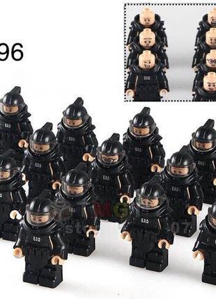 #96 Фигурка сапера защитный костюм SWAT спецназ военные Lego Лего