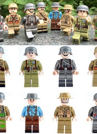 #60 фигурки немецкие военные swat вермахт спецназ солдаты лего...