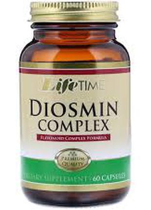 LifeTime Vitamins, Комплекс диосмин, венозный комплекс. 60 капсул