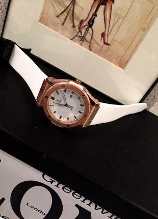 Часы каучук унисекс hublot