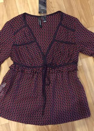 Блуза рубашка mango