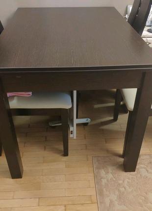 Обеденный стол и стулья!