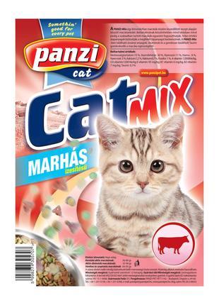 Венгерский корм для кошек Панзи КетМикс Говядина 10 кг