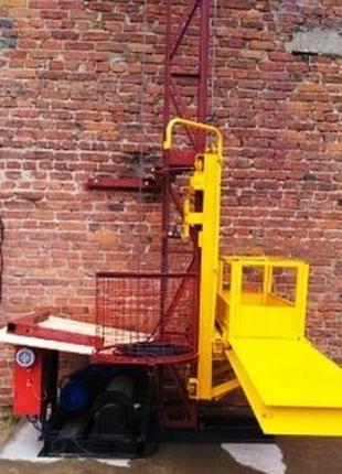 Н-89 метров, г/п 500 кг Мачтовый подъёмник для подачи стройматери