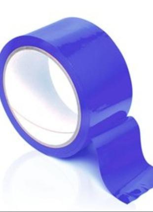 Скотч синий 45мм*200м (6 шт.)
