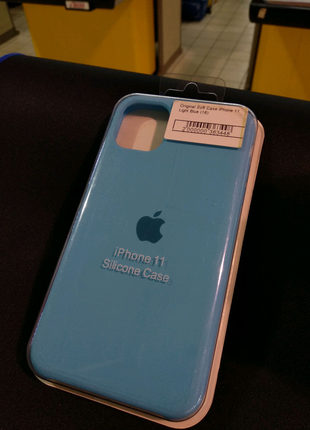 Чехол Original Soft Case iPhone 11 Light Blue