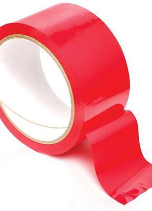 Скотч красный 45мм*500м  42 мкм (6 шт.)