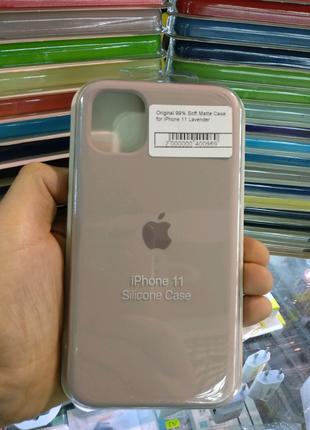 Чехол Original Soft Case iPhone 11 Lavender
