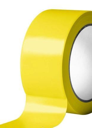 Скотч желтый 45мм*500м  42 мкм (6 шт.)