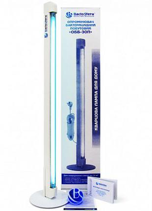 Бактерицидная (кварцевая) лампа OBB 30P, кварцевая лампа 35 кв.м