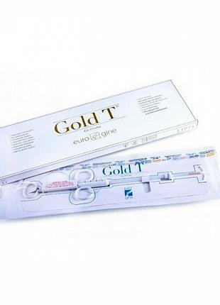 Внутриматочный контрацептив Gold T (Cu 375+Au) (медь + золото)