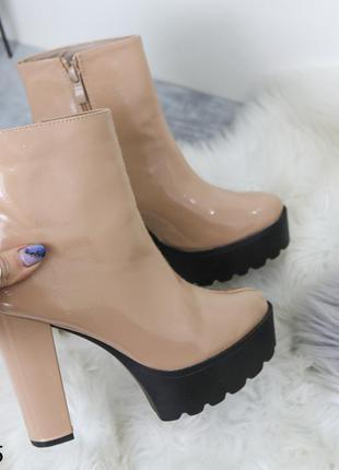 Ботильоны женские высокий каблук