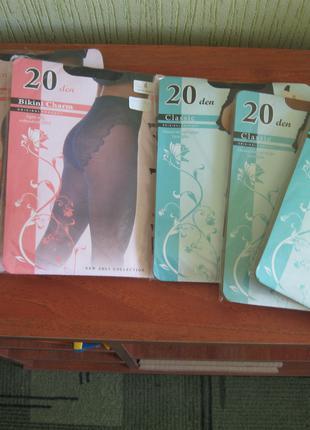 Комплект колгот женских 20 den