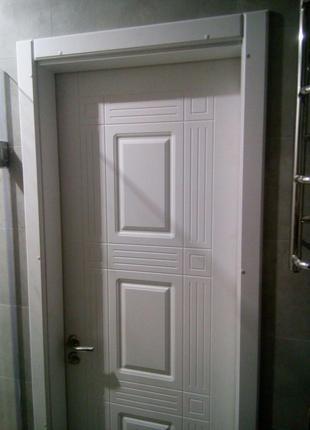 Міжкімнатні Двері/Двірь Білого Кольору