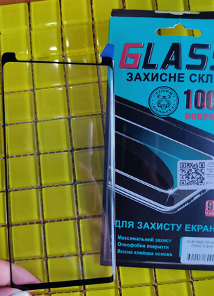 Захисне скло Защитное стекло Samsung Note 9