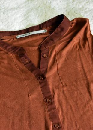 Летняя блуза свободного кроя оверсайз