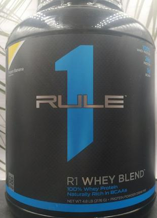 One Rule R1 Whey Blend Protein 2.27 kg 0.9 kg 4.6 kg сывороточ...