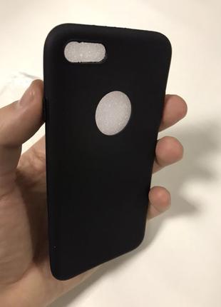 Чехол чёрный к iPhone 7 чорный смотрите др. мои товары на подарок