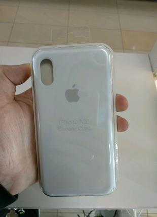 Чехол Original Soft Case iPhone X/XS White, Белый
